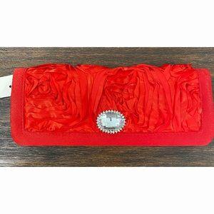 Red Evening Clutch